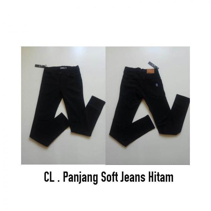 distro bandung soft jeans Hitam