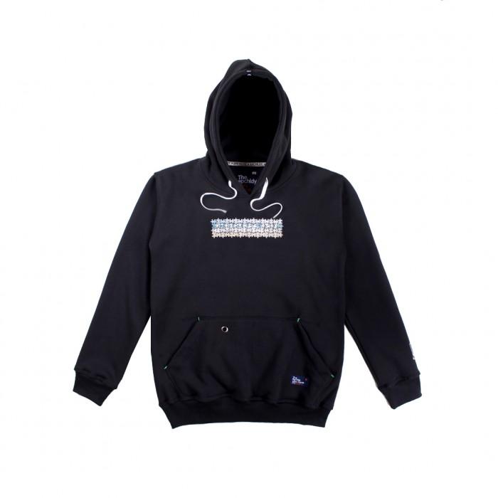 distro bandung Sweater Hoodie Pra Hitam Epchldy Original