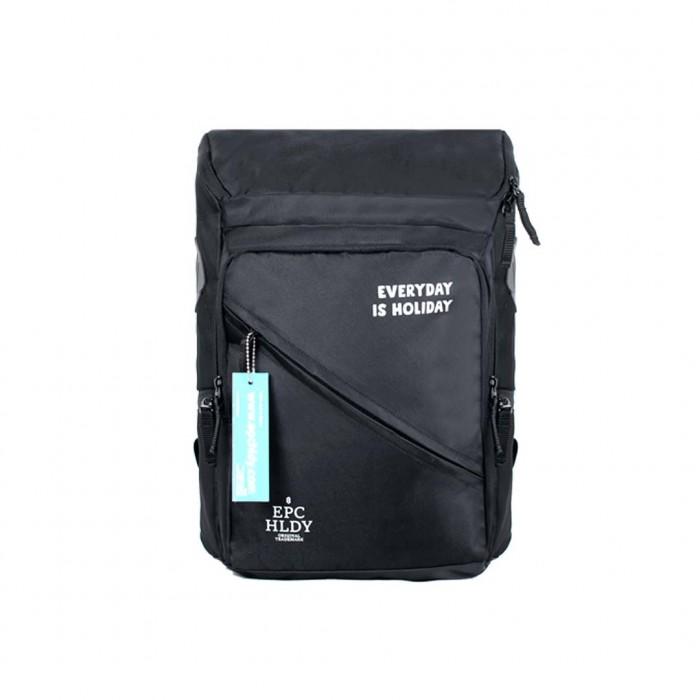distro bandung Tas Ransel Backpack Noel Hitam Epchldy Original